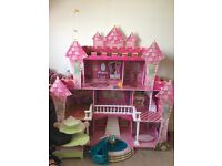 Princess castle with accessories
