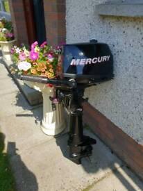 Mercury 4 stroke 4hp short shaft