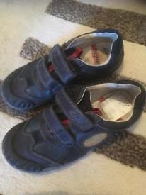 Clarks boys shoes size 12.5
