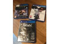 PS4 unopened games