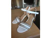 Block heel sandals size 6