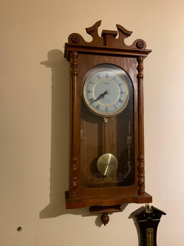 Wall Clock Acctim Quartz Westminster Chime In Kenley