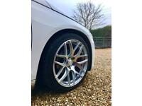 18 inch alloy wheels 5x112 Bola B8R with new tyres