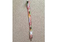 Genuine Creamfields lanyard