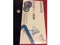 New kenwood 6.5 inch coaxial speakers