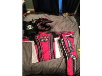 Kids motocross suits