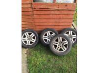 "Mk4 vw golf 15"" alloy wheels"