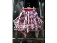 Girls pampolina skirt