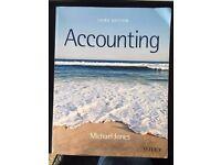 Accounting Third Edition. Michael Jones