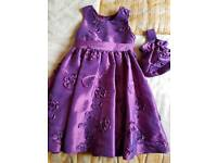 GIRL'S DRESS AGE 4/5 YEARS