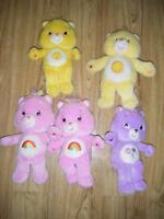 5 Care Bears for sale in Truro.