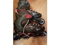 Oxelo Junior Roller Blades - Adjust From Size 2.5 to 5