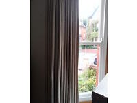 5 sets of curtains for rails from John Lewis for terraced house. £850 w/o rails, £1,000 w onro.