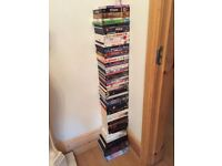 55 DVDS & 20 BIOGRAPHIES BOOKS