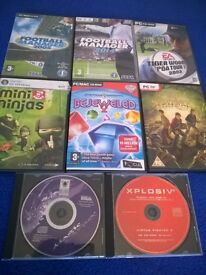 PC GAMES - ALL 8 for £3!
