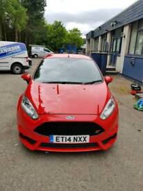 ford fiesta st 2 2014 (215 bhp) Montune exhaust by ford