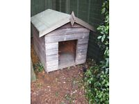 Wooden kennel, suit medium to large dog