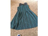 Girls Green Party dress age 13