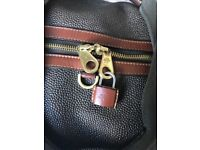 MULBERRY SCOTCH GRAIN HOLDALL