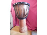 Beautiful large Djembe drum for sale (bargain!)