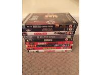 DVDs x 9 collection only £5