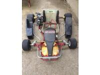 2x Rotax max chassis