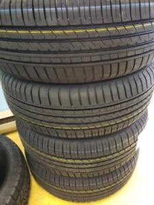 4 summer tires new with stickers 205/75r15
