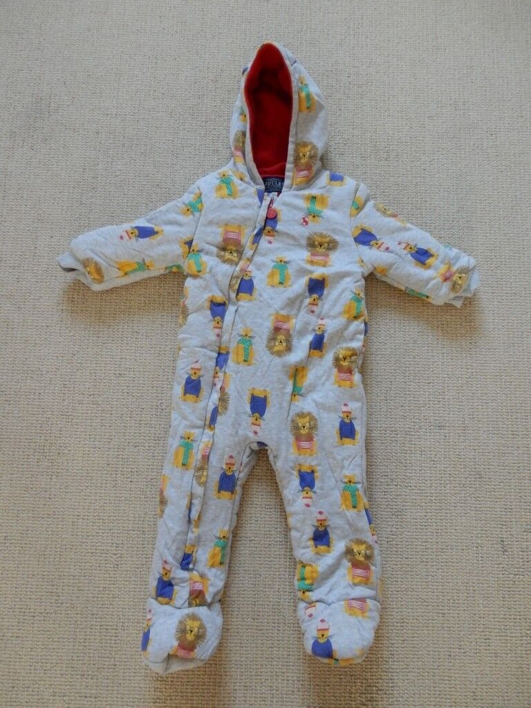 ef13a377e New Joules 18-24 months pramsuit unisex