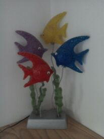 Ornamental fish light