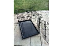 2 Door Sloping Car Dog/Puppy Crate