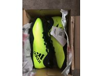 Adidas X Tango 17.3 Turf Solar Yellow Boots - Size 11
