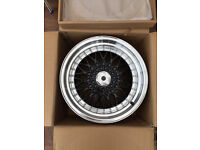 "BBS RS style brand new Alloy wheels 16"" inch x 9j prelude 4x100 5x100 alloys wheel"