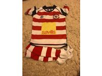 Rosslyn Park rugby football kit juniors