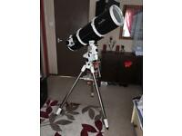Skywatcher 200P telescope and EQ-5 mount