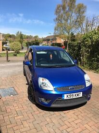 Ford Fiesta ST 55plate immaculate condition.