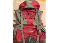 Karrimor SA Bobcat 65 Litre Pink & Grey Backpack