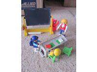 playmobil schoolroom