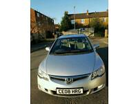 2008 08 Reg Honda Civic 1.4 IMA Hybrid. Immaculate Condition for a Low Price
