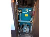 oil heating boiler