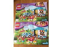 Lego friends summer caravan