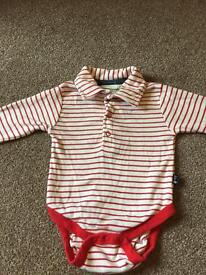 Boys long sleeves vest 3-6 months