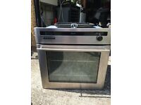 Diplomat stainless steel built in gas oven with grill