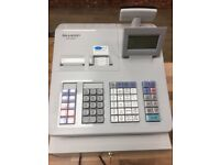 Cash Register + Barcode Scanner + 160 Till Rolls