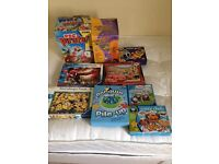 Selection of games and puzzles