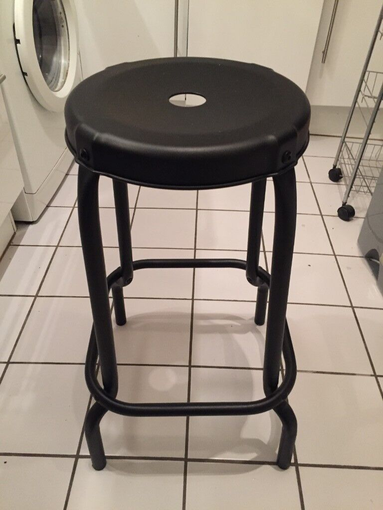 newest b0078 85642 IKEA Raskog Black Bar Stool | in Hampstead, London | Gumtree