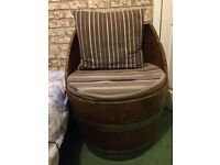 Quirky Whisky Barrel Chair
