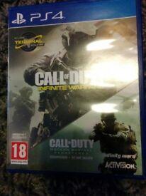 PS4 cod infinite warfare legacy edition incl mw remastered