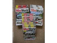 Three years worth of Mini World - Car Magazines