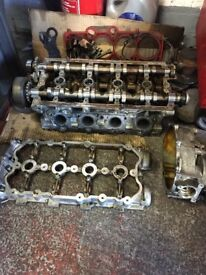 Seat Leon cupra k1 tfsi head with valves and cam shafts and cam box