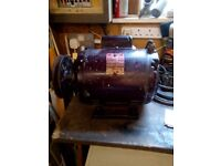 Electric Motor with Pulley